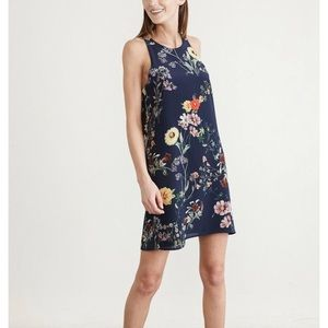 100% Silk Amour Vert Ginger Floral Garden Dress